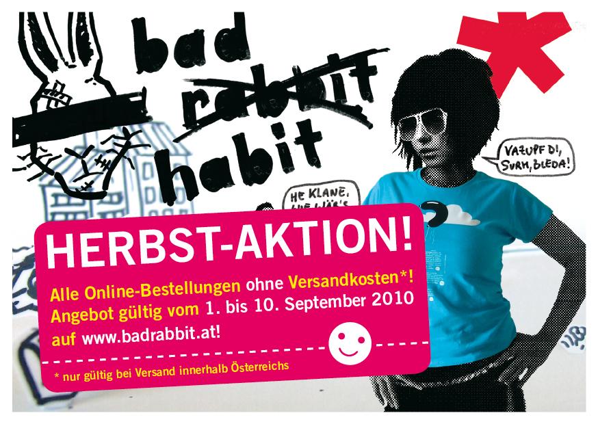 Herbst-Aktion auf www.badrabbit.at